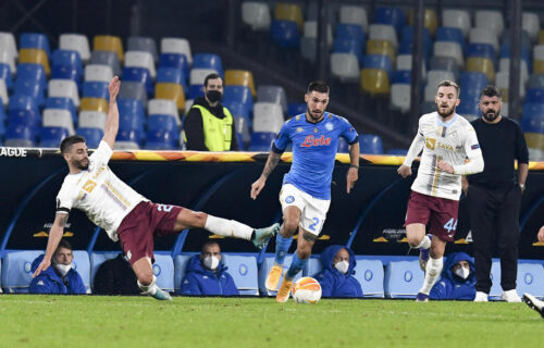 Poznati još neki učesnici nokaut faze Lige Evrope: Napoli veče puno emocija krunisao pobedom (VIDEO+FOTO)
