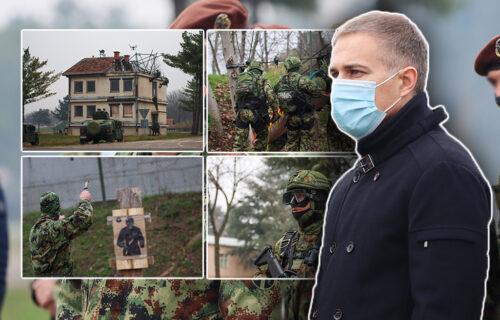 Pogledajte šta sve mogu naši SPECIJALCI: Ministar Stefanović se uverio u MOĆ srpske vojske (FOTO/VIDEO)