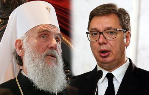 """""""Veliki ljudi ne gospodare, oni služe"""": Vučić uputio telegram saučešća SPC"""