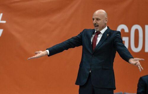 """Obradović pronašao razlog poraza: """" To nam je što nam je, energetski nismo mogli da pratimo meč"""""""