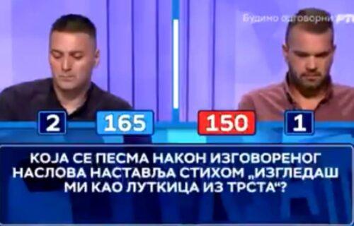 NAJNOVIJI HIT u Slagalici! Takmičar se teško izblamirao zbog Zdravka Čolića, nastao MUK u studiju (VIDEO)