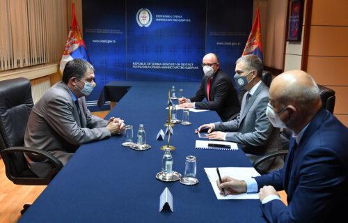 Stefanović sa ambasadorom Izraela pričao o zajedničkoj borbi sa pandemijom