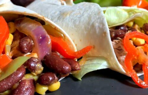 Brzo i ukusno: Meksičke TORTILJE sa piletinom i POVRĆEM (RECEPT+VIDEO)