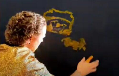 Samo dvaput se živi: Umetnik na neviđen način ispratio odlazak Konerija, Šona Konerija (VIDEO)