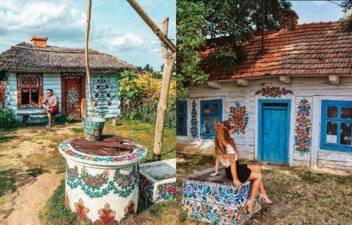 Magija cvetnih murala: Zalipie je seoce koje će vam svojim šarenilom izmamiti osmeh na lice (FOTO)