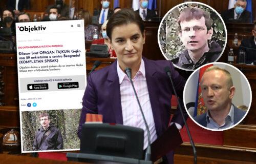 """Skupština """"GORI"""" zbog teksta Objektiva o bogatstvu Đilasovog brata: Premijerka obećala ISTRAGU! (VIDEO)"""