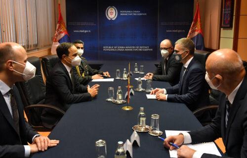Ministar Stefanović sa ambasadorom Bilgičem: Odnosi Srbije i Turske doprinose očuvanju mira