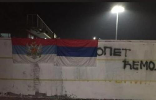 """INCIDENT u Podgorici! Policija reagovala zbog grupe mladića, ostavili poruku: """"Opet ćemo..."""" (VIDEO)"""
