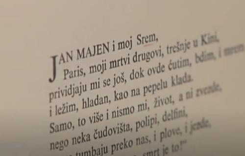 Beskrajni plavi krug i u njemu zveda: Dani Miloša Crnjanskog u Novom Sadu