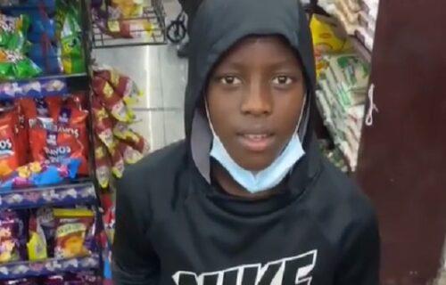 Momak imao 5 sekundi da odluči šta će BESPLATNO da nosi iz prodavnice: Oduševićete se ŠTA je uzeo (VIDEO)