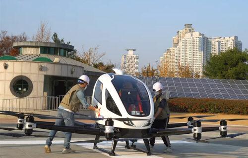 """""""Leteći taksi"""" osvaja Koreju: Pogledajte EHang 216 u akciji (VIDEO)"""