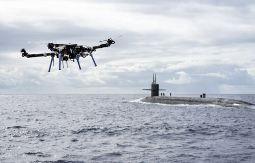 Dronovi prkose vetrovima i talasima, njihov CILJ su podmornice i brodovi (VIDEO)