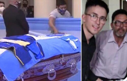 Međunarodni skandal: Otvorili Maradonin kovčeg i slikali selfi s mrtvim Dijegom! (FOTO)