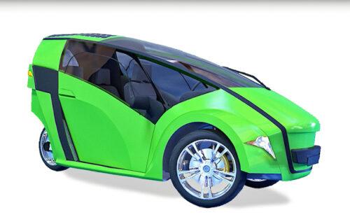 Hibridni Vegan: Mikro automobil za gradove budućnosti (VIDEO)