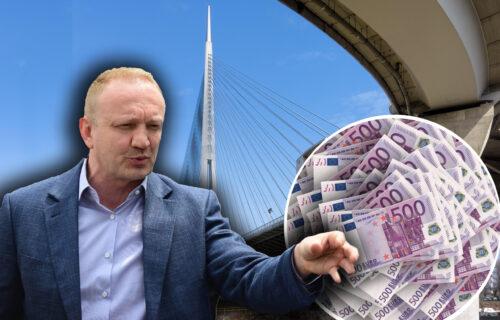 LICEMERJU Đilasa nema kraja: Ne može da se ODLUČI da li je Most na Adi njegov ili ne (FOTO)