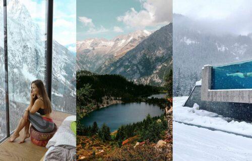 Malo skijanja, pa plivanje na otvorenom: Ako volite i leto i zimu, DOLOMITI će vas oduševiti (FOTO+VIDEO)