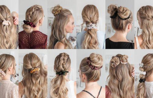 Elegantne, jednostavne i seksi: 12 predloga za novu frizuru, a za svaku vam je dovoljan 1 minut (VIDEO)
