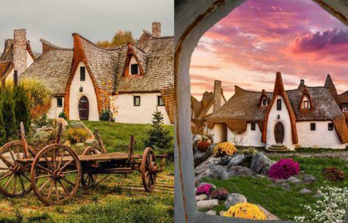 Fale još samo princeze i patuljci: Neobično SELO u Rumuniji izgleda kao da su ga sagradile VILE (FOTO)