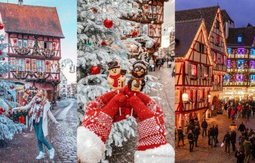 Ovde samo Deda Mraz fali: Neobičan gradić u Francuskoj izgleda kao da je deo sna (FOTO)