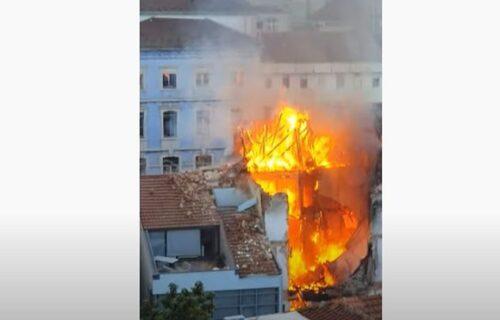 Strašna EKSPLOZIJA u Lisabonu: Cela zgrada planula zbog BOJLERA, ostale samo ruševine