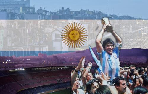 Poznati dres sa likom Maradone: Argentina u potpuno novom svetlu, navijači su oduševljeni dizajnom (FOTO)