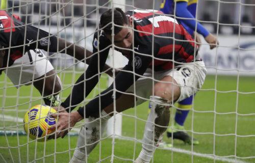 Milan se jedva izvukao: Bez Ibrahimovića nema ni moćnih rosonera, posrnuli u borbi za titulu (VIDEO)