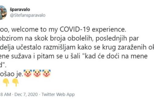 Stefan iz Beograda otkrio kako je zbog SITNICE dobio koronu! O njegovom iskustvu BRUJE društvene mreže