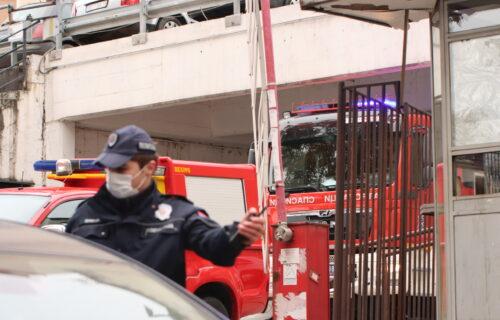 Drama na Beogradskoj tvrđavi: Mladić se zaglavio i visio sa ZIDINA KULE