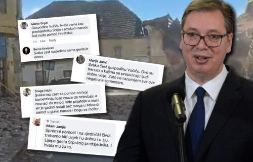 Hrvati ZAHVALNI Vučiću zbog pomoći koju je najavio: Osvanulo 2.000 komentara sa snažnim porukama (FOTO)