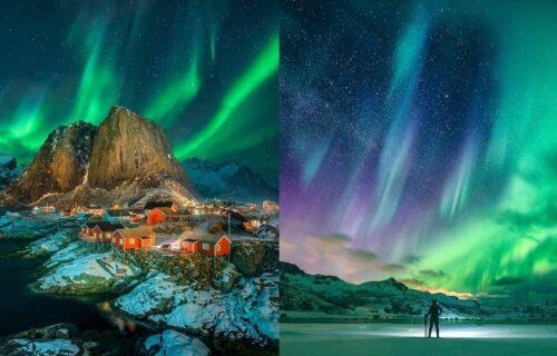 Čarolija boja: Jednom kad vidite POLARNA SVETLA bićete sigurni da magija zaista postoji (FOTO)
