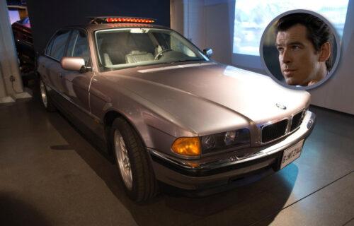 Ovaj BMW poseduje sve Bondove gedžete: Ima i SPECIJALNOG putnika na zadnjem sedištu (VIDEO)
