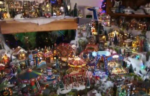 Zavisnik od Božića: Potrošio 33.000 evra za dekoraciju kuće i enterijera (VIDEO)