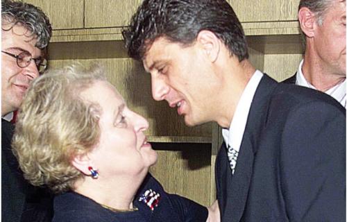 Tači je bio LIČNI ŽIGOLO Medlin Olbrajt: Ovako je izgledala afera RATNOG ZLOČINCA i žene koja mrzi Srbe