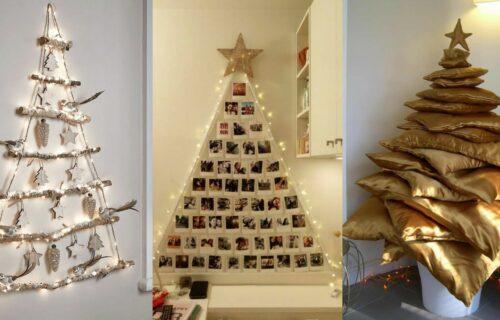 Ne mora uvek tradicionalno: Ove godine u modi su potpuno DRUGAČIJE novogodišnje JELKE (FOTO)