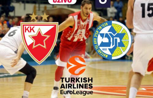 Luda košarka u Tel Avivu: Zvezda nije mogla da se sastavi 6 minuta pa uhvatila ritam! Vratili se sa -13!