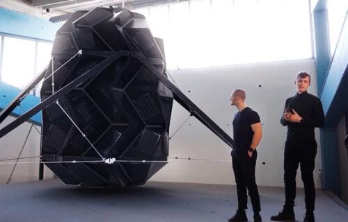 Smeštaj za svemirske turiste: Futuristička kapsula inspirisana je origamijem (VIDEO)