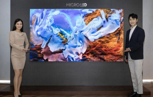 Revolucija u industriji: Samsung predstavio MicroLED TV 110'' (VIDEO)