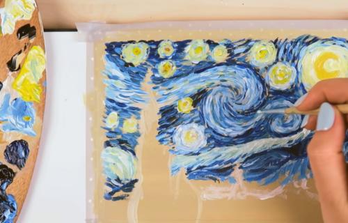 "Stopama Van Goga: Sami možete da naslikate ""Zvezdanu noć"" (VIDEO)"