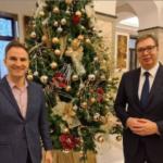 """""""Vaš povratak je jedna od najlepših vesti za Srbiju"""": Vučić se sastao sa čuvenim violinistom (FOTO)"""