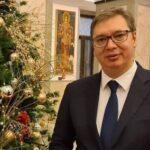 Predsednik Srbije čestitao vernicima Božić: Vučić od srca poželeo srećne praznike!
