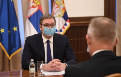 Sastali se Aleksandar Vučić i novi šef Misije OEBS-a u Srbiji (FOTO)
