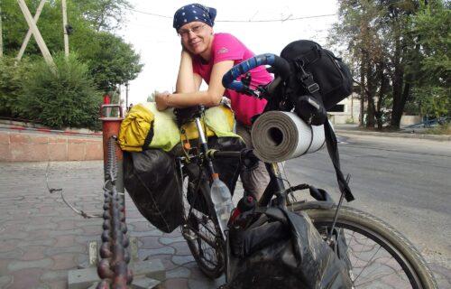 Beograđanka deset godina živi na PEDALAMA: Snežana za Objektiv otkrila kako je po svetu putovala biciklom