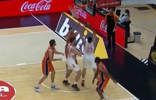 "Kuridža ""uništio"" Kalinića: NBA zakucavanje košarkaša Zvezde! (VIDEO)"