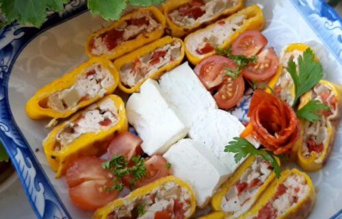 Kako da od klasičnog, dosadnog jela, napravite poslasticu: Urolana punjena kajgana (RECEPT+VIDEO)