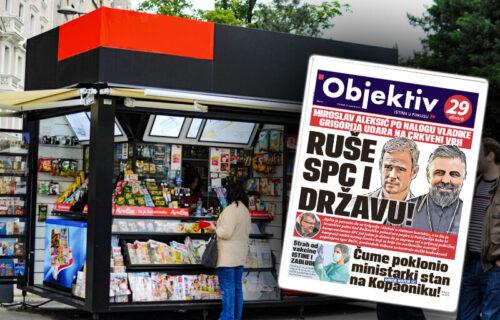Danas u novinama Objektiv: Čume poklonio stan ministarki, stručnjaci o vakcinaciji... (NASLOVNA STRANA)