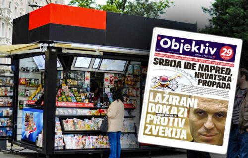 Sutra u novinama Objektiv: Ministar gradi na kostima Srba, vladika ulazi u politiku... (NASLOVNA STRANA)