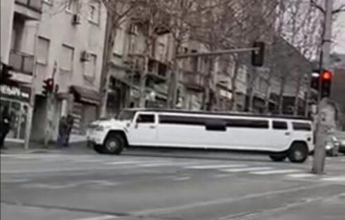 Ogromna LIMUZINA zagrmela Beogradom: Građani ostali šokirani (VIDEO)