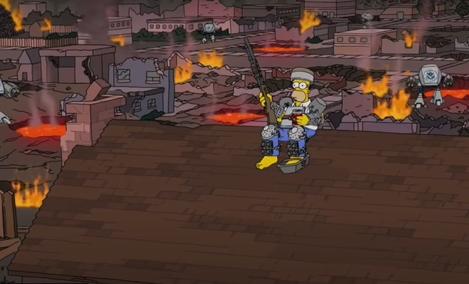 Simpsoni nisu predvideli januarske nerede u Americi