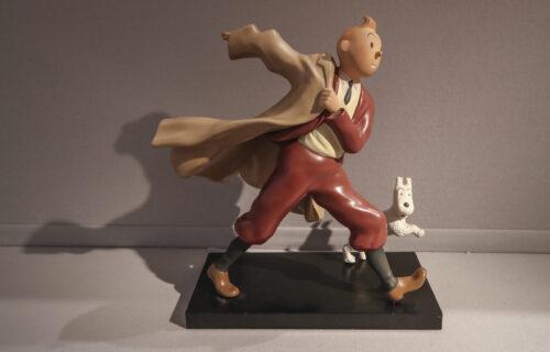 "Oboren rekord: Odbačena naslovnica stripa ""Tintin"" prodata za više od 3 miliona evra (FOTO)"