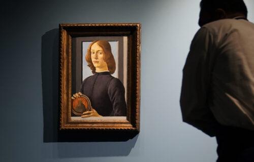 Botičelijeva slika oborila rekord: Portret mladića prodat za više od 92 miliona dolara